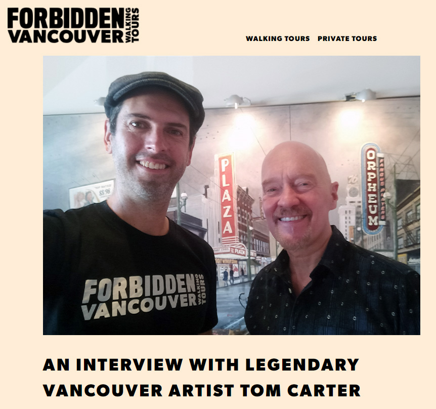 Tom's Interview with Forbidden Vancouver